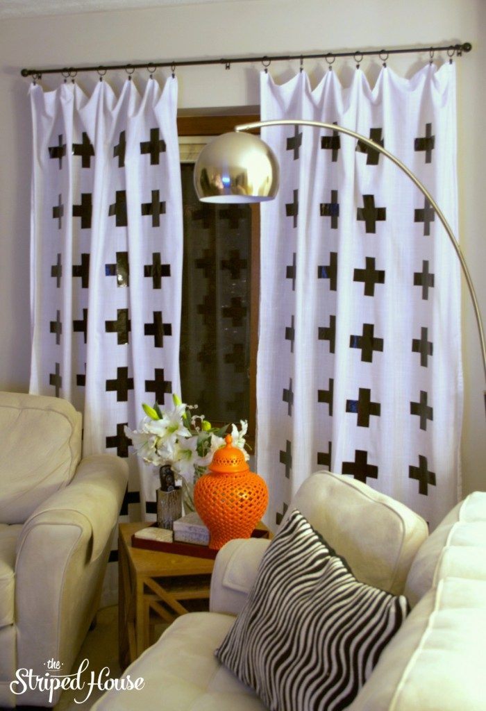 Duck-Tape-Cross-Curtains-1-700x1024