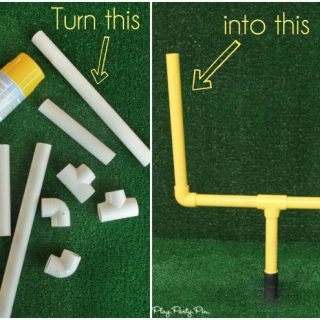 DIY Field Goal Post (Party Contributor)