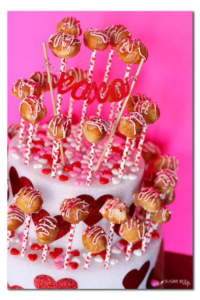 donut hole cake pop