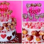 Donut Hole Pops Tiered Display