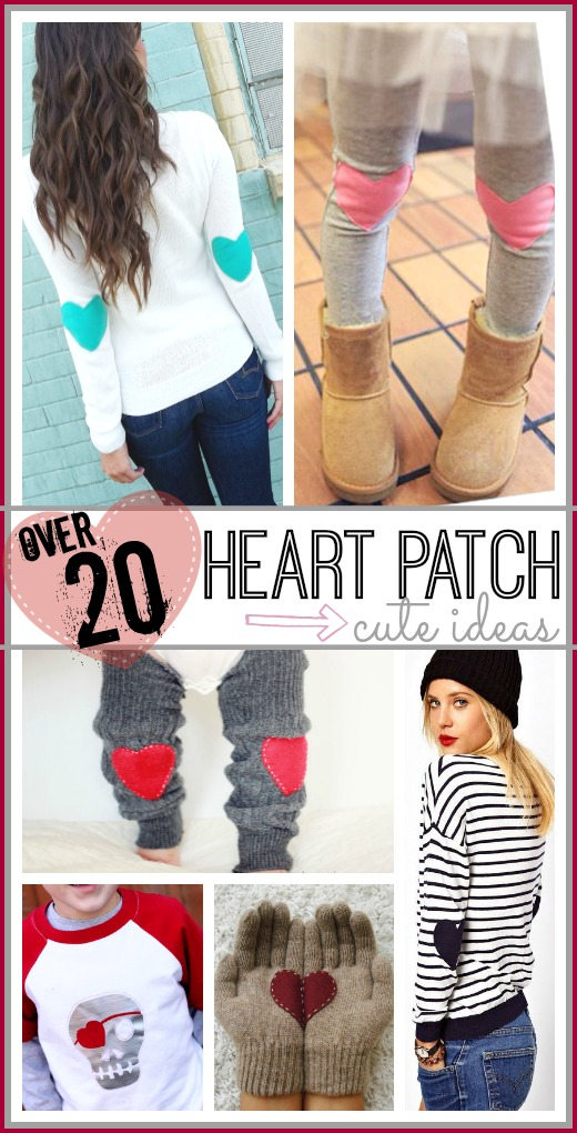 heart patch craft diy ideas