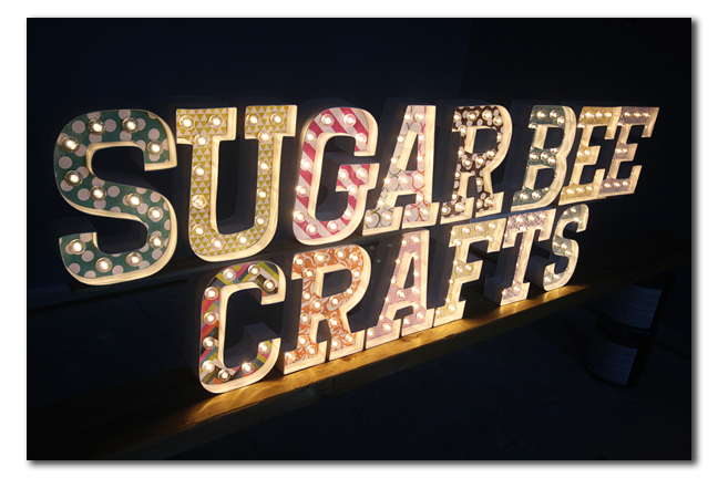 marquee letters diy