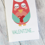 Pop-Up Owl Valentine's Day Card