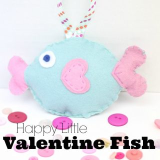 Happy Little Valentine Fish