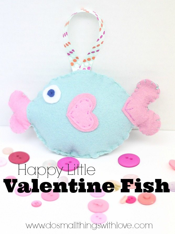 Happy Little Valentine Fish
