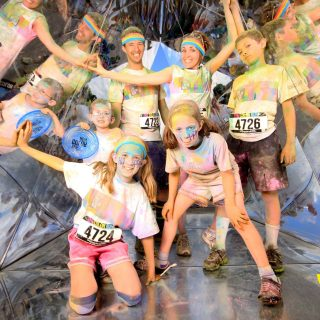 The Color Run, and Tie Dye Socks