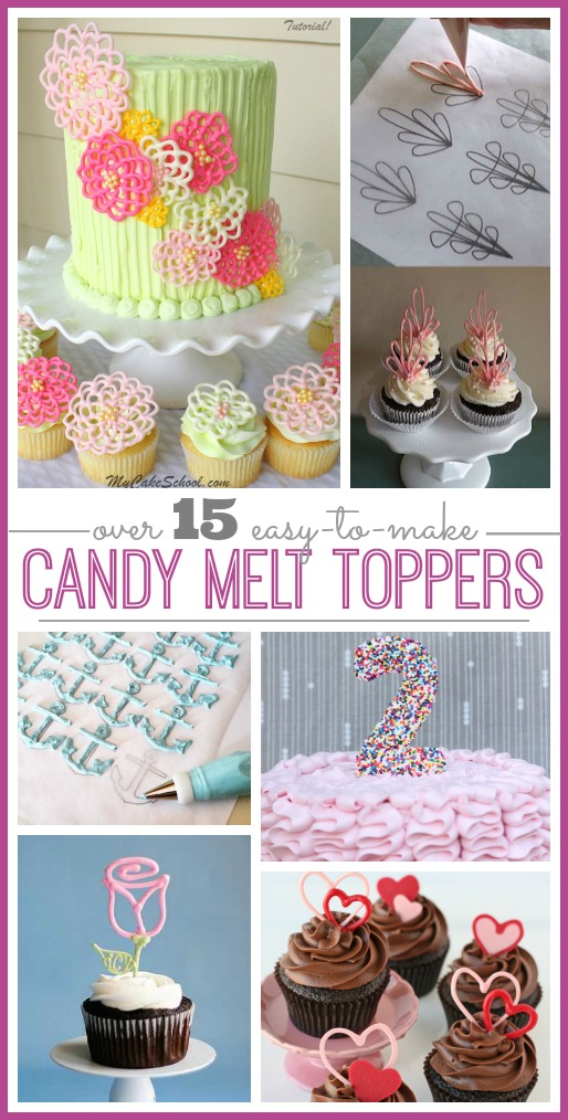candy melt toppers