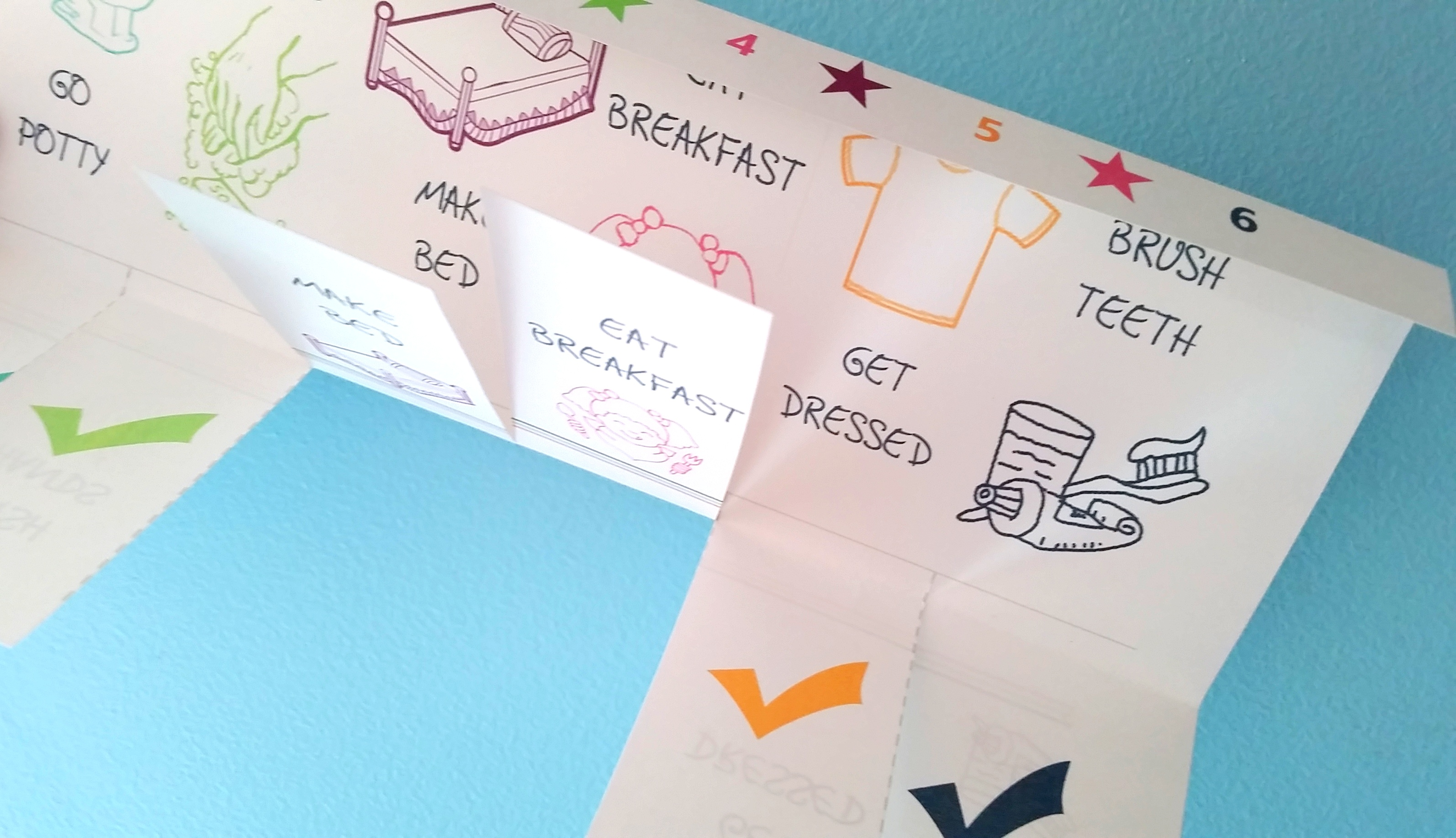 Kindergarten Calendar Flip Chart : Printable chore charts preschool contributor sugar bee