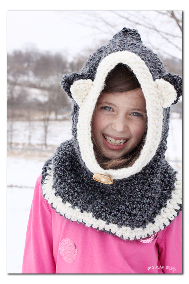 crochet hooded cowl copy