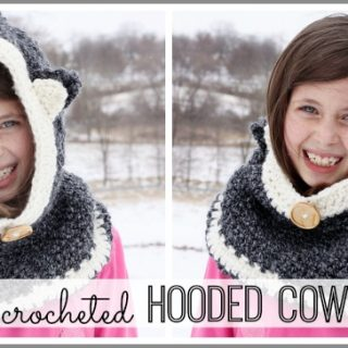 crochet hooded cowl easy