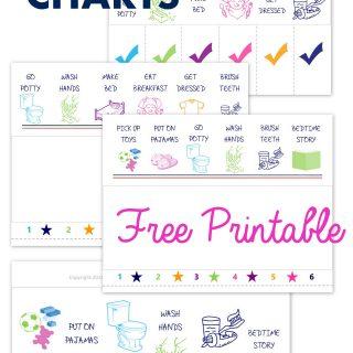 Printable Chore Charts (Preschool Contributor)