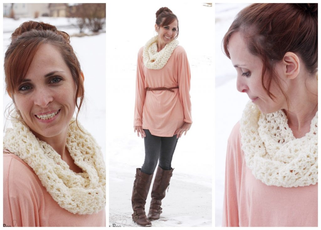 simple crochet cowl