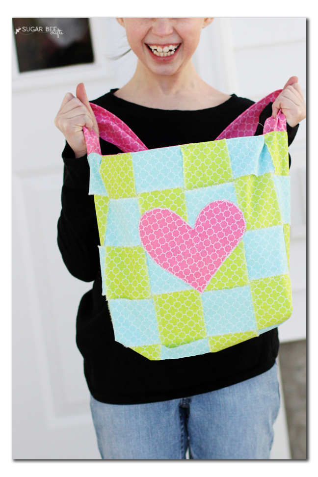 woven patchwork bag