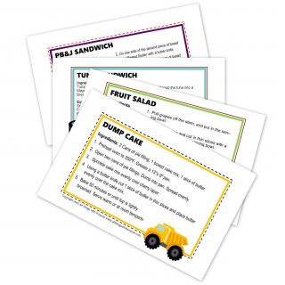 Fun Preschool Recipe Cards! (Preschool Contributor)