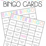 Easter Party Games: Easter Candy Bingo