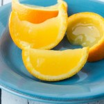 Orange Jello Wedges