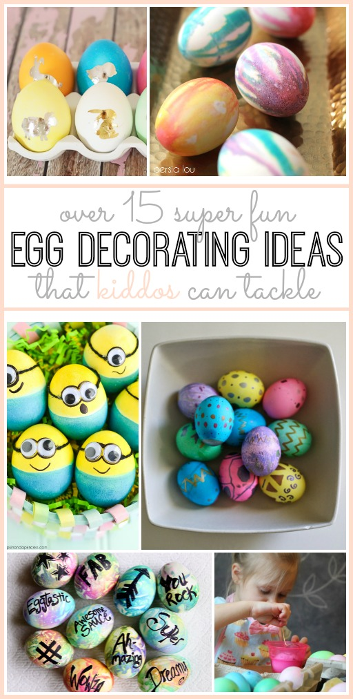 Find this Pin and more on Decorate those Easter Eggs by Jamie Reimer. Melted Crayon Egg Decorating Our favourite Easter Egg Decorating ideas 10 delightful Easter Egg Decorating ideas and a reminder of how to blow out the yolk! Decorating Easter Trees is a lovely activity for .