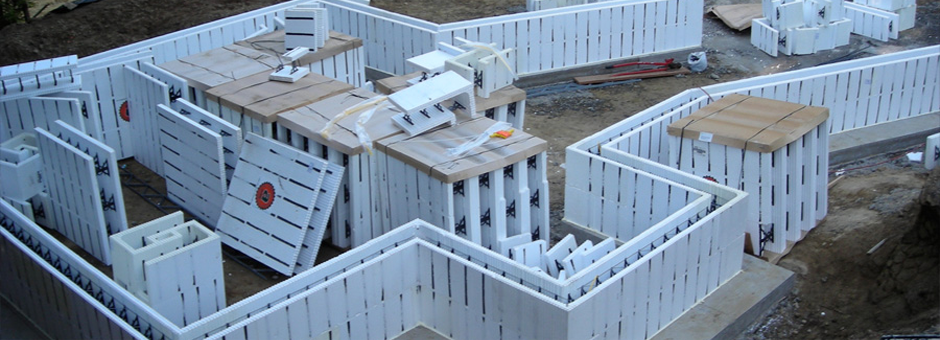 Icf form for Icf concrete roof