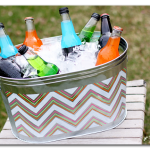 Chevron Drink Container