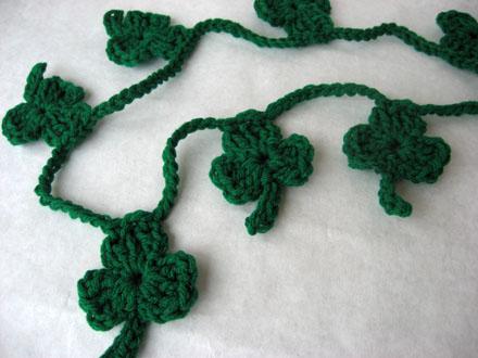 shamrock crochet2