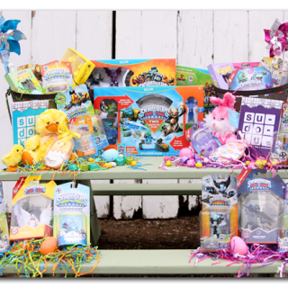 Skylanders easter basket boy and girl ideas