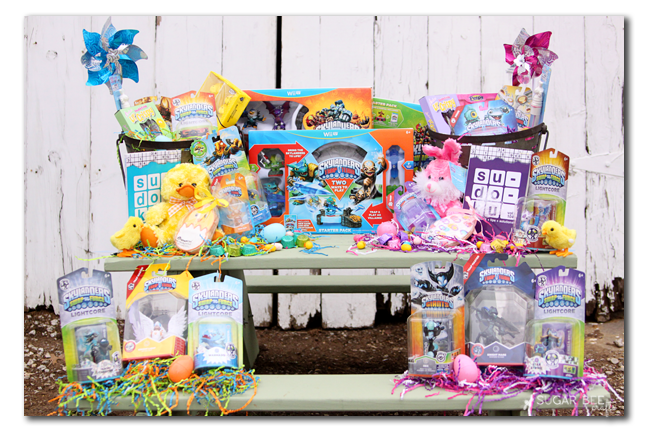 Easter basket idea skylanders sugar bee crafts skylanders easter basket boy and girl ideas negle Image collections