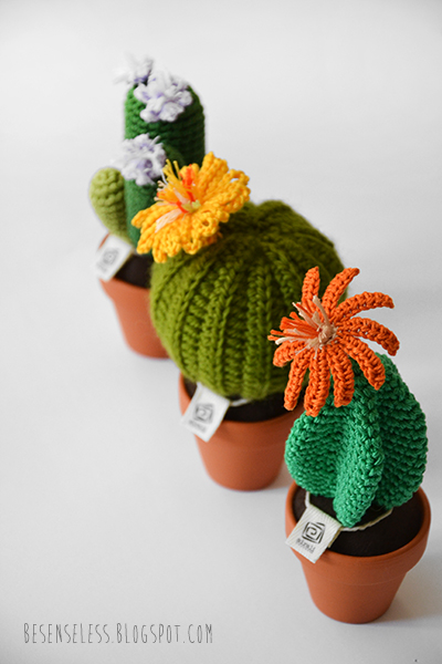 Free Crochet Pattern For Cactus : Cactus Crochet RoundUp - Sugar Bee Crafts