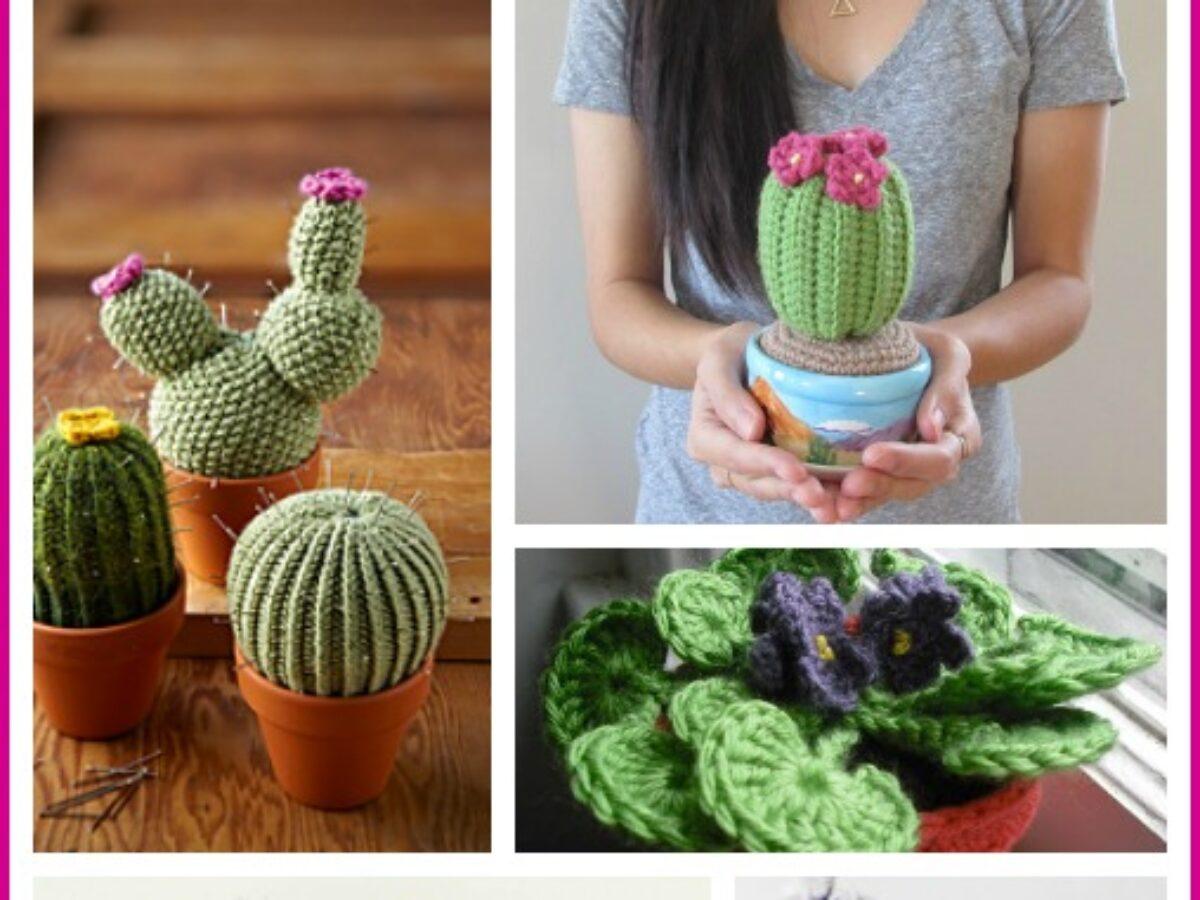 How to crochet CACTUS PINCUSHION ♥ CROCHET LOVERS - YouTube | 900x1200