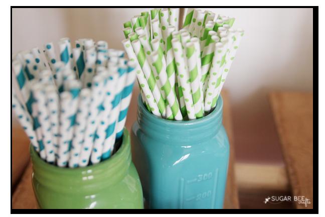 graduation party straws