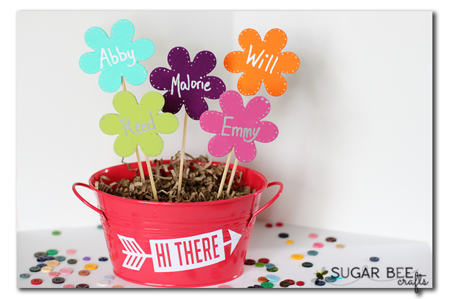 Mother's Day Craft – Wooden Flower Bouquet