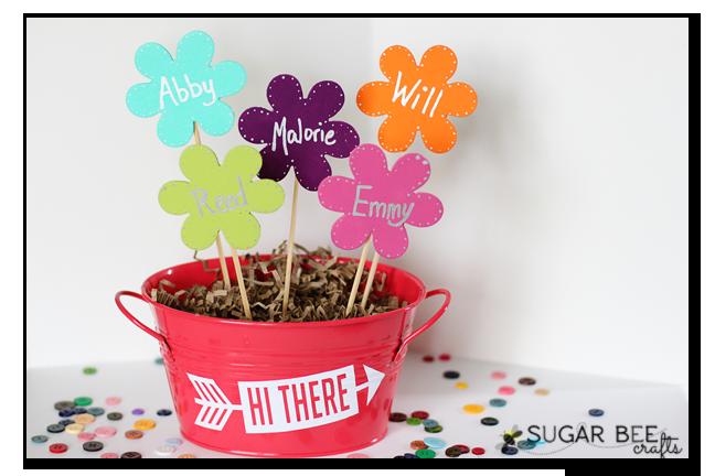 Mother's Day Craft – Wooden Flower Bouquet
