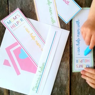 Mommy's Helper Printable (Preschool Contributor)