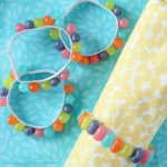 Easy DIY Spring Napkin Rings