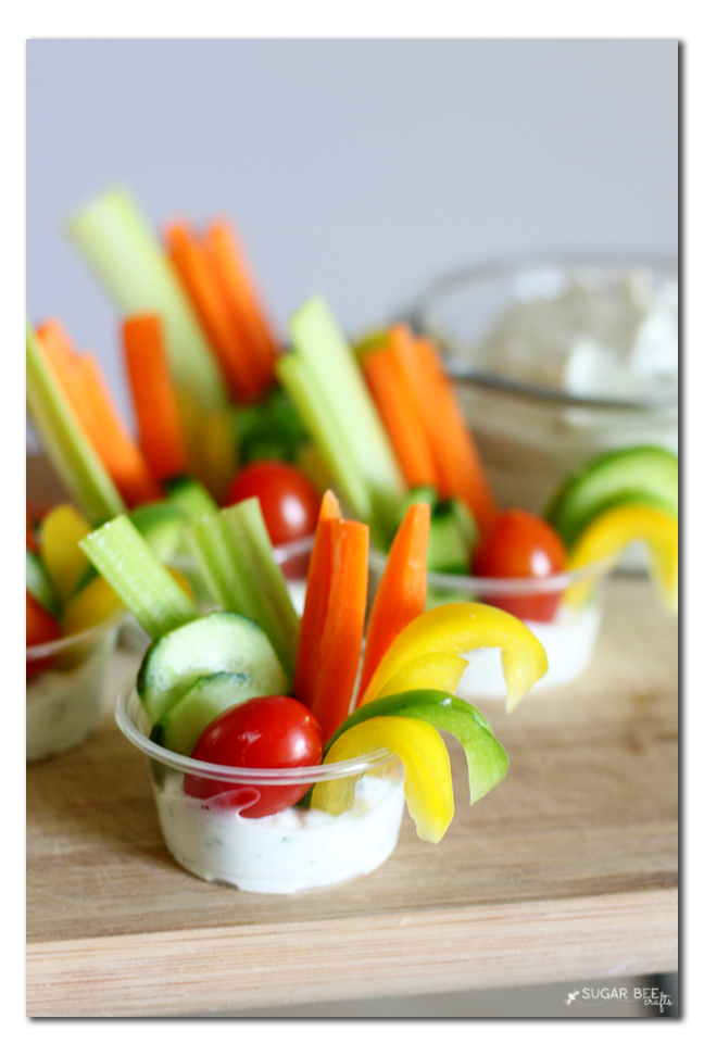 summer party veggie idea