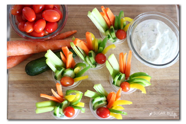 veggie tray alternative - summer party snack idea
