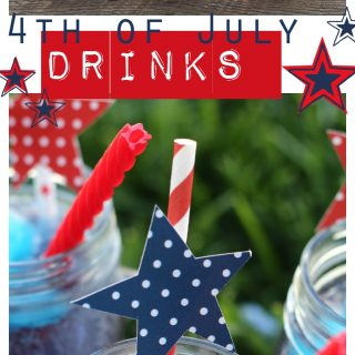 4th of july drinks red white and blue