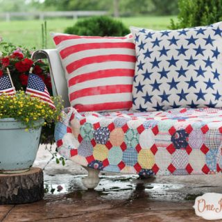 Stars & Stripes Pillows {home decor contributor}