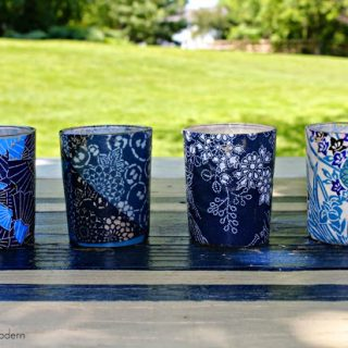 Covered votive candles 2