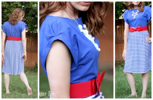 diy dolman sleeve summer dress