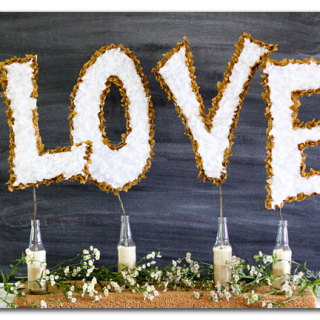 diy wedding decor tissue paper love copy