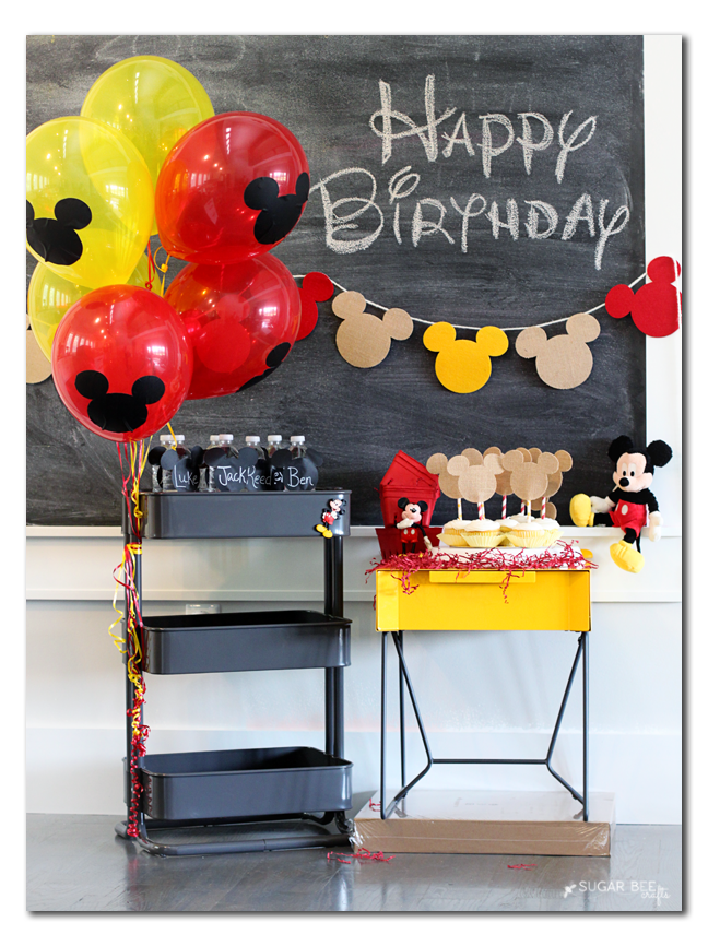 mickey party craft