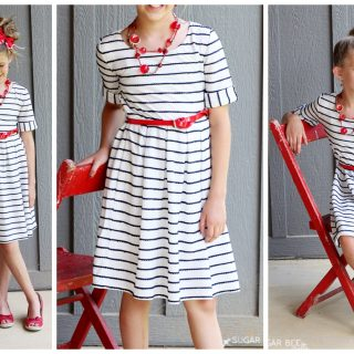 Patriotic sundress altered diy