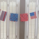 Red, White, and Blue Napkin Garland