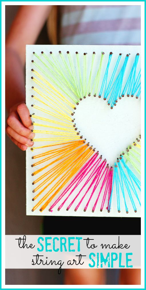 simple way to do string art