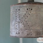 Monogrammed Outdoor Pendant Light