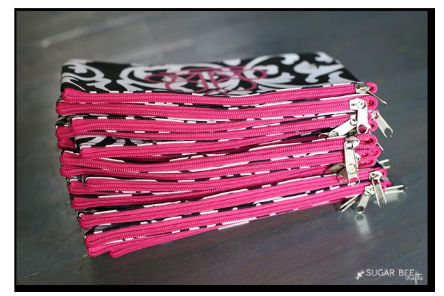 bulk zipper pouch gift
