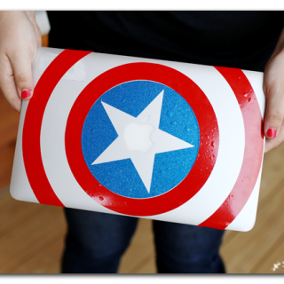 captain america shield vinyl