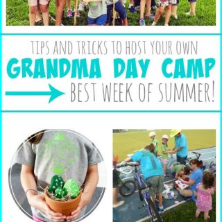 how to have grandma day camp