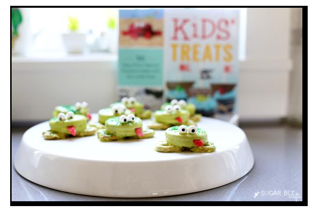 kids' treats oreo frogs