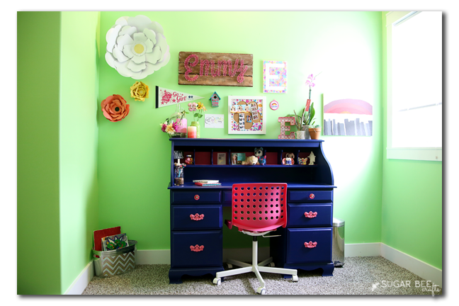 painted desk tween room how to
